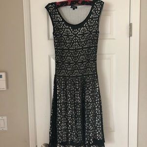 Unusual dressy dress with cutout detail